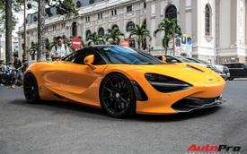 Rộ tin doanh nhân Nguyễn Quốc Cường chia tay McLaren 720S màu cam