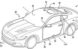 """Ford nhen nhóm ý tưởng sử dụng kính chắn gió """"siêu to khổng lồ"""" cho Mustang"""