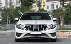 Bỏ 200 triệu lột xác Mercedes-Benz S-Class, đại gia Việt bán xe với giá rẻ ngang E200 2019