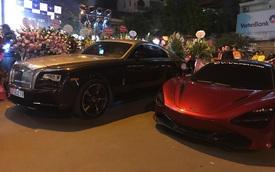 Ca sĩ Tuấn Hưng cầm lái Ferrari 488 GTB cùng dàn siêu xe 'triệu USD' tụ họp mừng khai trương cửa hàng của đại gia đồng hồ
