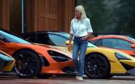 Người phụ nữ giản dị với thú vui... sưu tập siêu xe McLaren