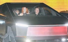 Chất chơi như tỷ phú: Elon Musk thản nhiên lái Tesla Cybertruck đi ăn tối bất chấp bất tiện