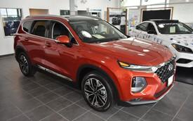 Sau Tết, giá Hyundai Santa Fe 2019 hạ nhiệt, không còn 'lạc' 100 triệu đồng