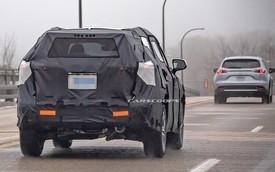 Cạnh tranh Ford Explorer, Toyota Highlander 2020 chạy thử cùng... Mazda CX-9