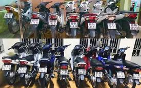 Đây là bộ sưu tập xe máy biển ngũ quý bạc tỷ của dân chơi Bến Tre và Đồng Nai nhưng loại xe mới gây chú ý