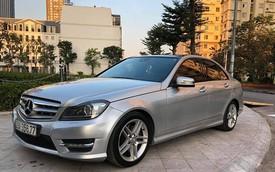 8 năm tuổi, Mercedes-Benz C300 AMG chỉ đắt hơn Toyota Vios mới 90 triệu đồng