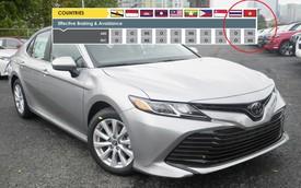 Tài liệu tiết lộ về Toyota Camry 2019 dành cho thị trường Việt Nam và dấu hỏi lớn được đặt ra