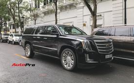 'Khủng long' Cadillac Escalade 'thùng dài' đeo biển số tứ quý 9 phát mãi của đại gia Hà thành
