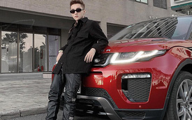 Sơn Tùng M-TP lần đầu tiên đăng hình công khai với Range Rover Evoque sau gần 3 năm mua xe