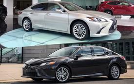 Cùng giá 2,5 tỷ đồng, chọn Toyota Camry XLE 2019 hàng độc hay Lexus ES250 2019 chính hãng?