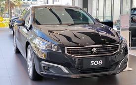 Peugeot 508 giảm giá cả trăm triệu đồng tại Việt Nam