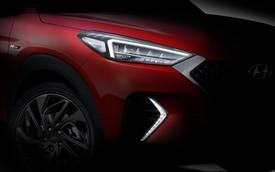 Hyundai Tucson nhá hàng phiên bản thể thao trên cơ Honda CR-V