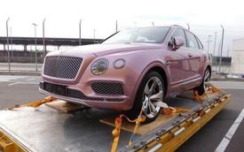 Đại gia Việt chơi trội, mua Bentley Bentayga chục tỷ màu hồng sản xuất riêng