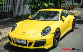 Khám phá Porsche 911 Carrera GTS màu vàng 8,11 tỷ đồng của dân chơi Sài Thành