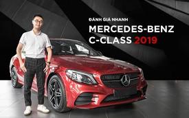 Đánh giá nhanh Mercedes-Benz C-Class 2019: Đón đầu nhóm chủ xe Civic, Focus