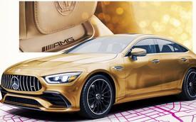 Mercedes-Benz chế tạo AMG GT 4 cửa mạ vàng cho lễ trao giải Oscar