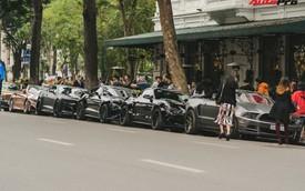 """Dàn xe cơ bắp Mỹ """"cực ngầu"""" náo loạn Hà Nội: Cặp đôi xe khủng của vợ chồng ca nương Kiều Anh nổi bật nhất"""