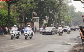 Bóc tách dàn xe khủng, chia nhiều lớp bảo vệ, hộ tống Kim Jong-un tới Hà Nội