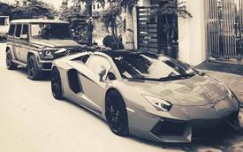 Đại gia đồng hồ chục tỷ Hà Nội sắm bộ đôi xe 'khủng', thêm Lamborghini Aventador Roadster thứ 2 độc hơn chiếc trước