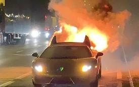 Lamborghini mạ vàng của giám đốc 22 tuổi bốc cháy sau khi ra khỏi xưởng chưa đầy 1 giờ