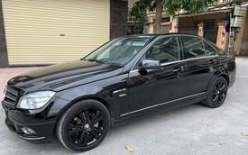 11 năm tuổi, Mercedes-Benz C230 Avantgarde rớt giá còn 435 triệu đồng ngang Hyundai Accent