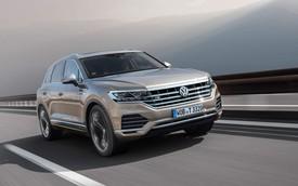 SUV hot sắp bán tại Việt Nam Volkswagen Touareg có thêm bản máy dầu V8
