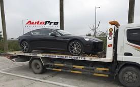 Aston Martin Rapide S màu đen đầu tiên về Việt Nam dành cho đại gia thích sự khác biệt