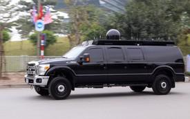 Chiếc Ford 4 khoang kỳ lạ xuất hiện sau 'quái vật' của Donald Trump tại Hà Nội: Tưởng SUV nhưng thực tế ngỡ ngàng