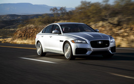 Jaguar nâng cấp đáng kể XF, F-Pace cho năm sau, kỳ vọng vực dậy doanh số ảm đạm