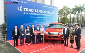Tỉnh Tuyên Quang được bổ sung thêm xe bán tải để đảm bảo an toàn giao thông
