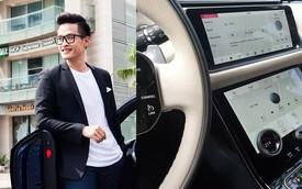 Ca sĩ Hà Anh Tuấn úp mở việc sở hữu Range Rover Velar, khoe rửa xe đón Tết