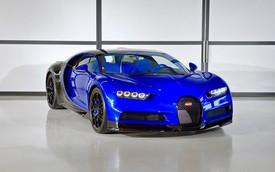 Bugatti Chiron Sport đầu tiên xanh biếc đã tới tay dân chơi Ả-rập