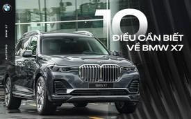 10 điểm cần biết về BMW X7 - SUV đầu bảng cho 'thượng đế' Việt