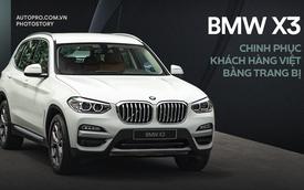BMW X3 chinh phục khách hàng Việt bằng trang bị