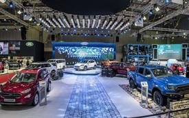 Xe gầm cao của Ford tạo dấu ấn đậm nét tại Triển lãm Ô tô Việt Nam 2019
