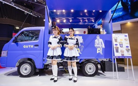 """Suzuki Super Carry Pro """"biến hình"""" ấn tượng, hút khách tham quan tại VMS 2019"""
