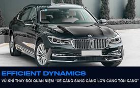 BMW 7-Series và Efficient Dynamics: Tích tiểu thành đại