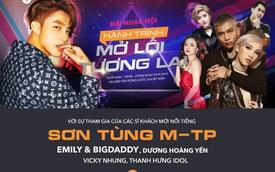 Sơn Tùng M-TP và hàng loạt sao hot sắp khuấy động Hà Nội tại sự kiện ra mắt xe cực hoành tráng