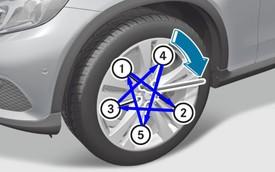 Làm gì khi lốp xe Mercedes-Benz bị thủng?  - Kỳ II