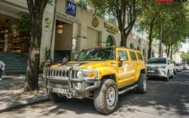 """""""Khủng long"""" Hummer H3 màu vàng siêu hiếm của đại gia Sài Gòn"""