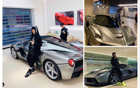 Mê Ferrari Laferrari Aperta, Châu Kiệt Luân bỏ quên Lamborghini Urus vợ tặng sinh nhật
