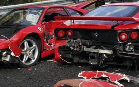 """Những vụ tai nạn khiến chủ xe """"viêm màng túi"""" nặng nề nhất: Bài học cần biết trước khi mua xe Ferrari"""