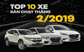 Người Việt bớt cuồng Toyota trong 2 tháng đầu năm 2019: Chỉ còn Vios dần trượt chân trong top 10
