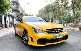 """14 năm tuổi, xe """"dân chơi"""" Mercedes-Benz CLS bán lại rẻ hơn Hyundai Accent cả chục triệu đồng"""