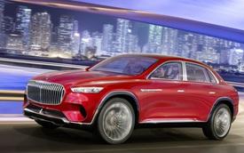 Mercedes-Maybach sẽ mở màn phân khúc SUL với SUV lai sedan siêu sang này