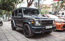Đại gia Hà thành buôn đồ xa xỉ tậu Mercedes-AMG G55 hai màu độc