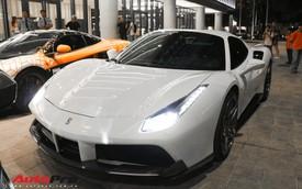 Ferrari 488 Spider của đại gia Bình Phước lên gói độ carbon hàng trăm triệu từ Novitec