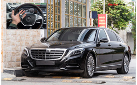 Lo Mercedes-MayBach mất giá, đại gia Việt bỏ 150 triệu bọc nilon xe từ trong ra ngoài