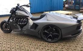 Đẹp và độc: Mô tô độ Lamborghini Aventador dùng động cơ Corvette
