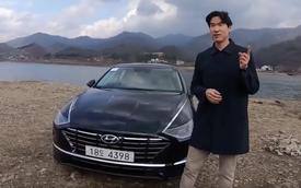 Người dùng 'trên tay' nhanh Hyundai Sonata 2020 vừa ra mắt - Đối thủ tầm cỡ của Toyota Camry thế hệ mới